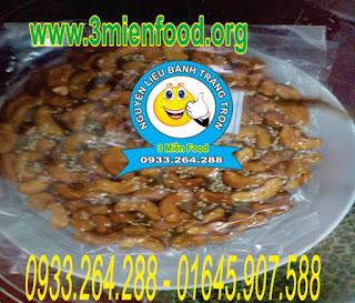 cung cấp nguyên liệu làm bánh tráng trôn : 0933.264.288