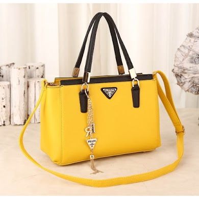 PRADA BAG - YELLOW