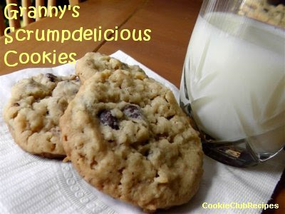 Granny's Scrumpdelicious Cookies Recipe by CookieClubRecipes