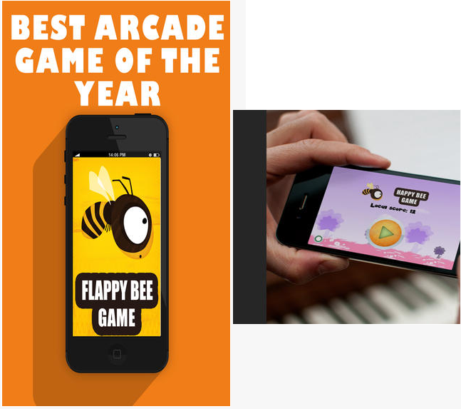 Flappy Bee Alternative To Flappy Bird