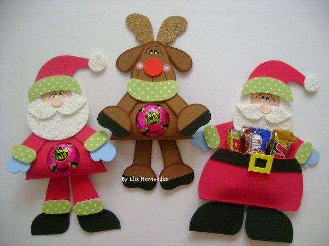 Divinas manualidades de crys dulces detalles para navidad for Detalles de navidad