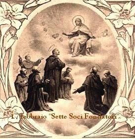 17,febbraio Santi Sette Fondatori dell'Ordine dei Servi della Beata Vergine Maria