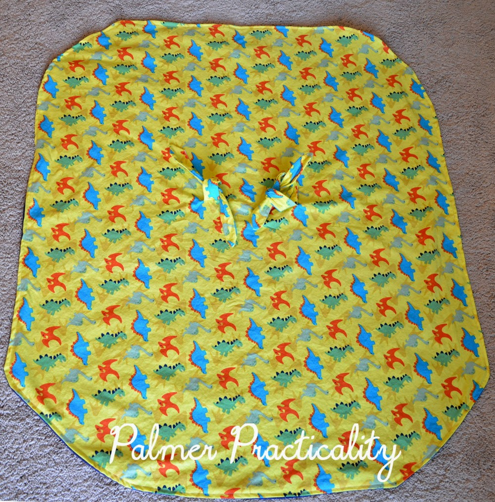 Palmer Practicality: Homemade Baby Car Seat Cover