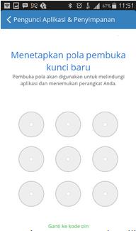Cara Mengunci Aplikasi Dengan Pola Pada Android