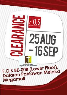 F.O.S Clearance Event Melaka