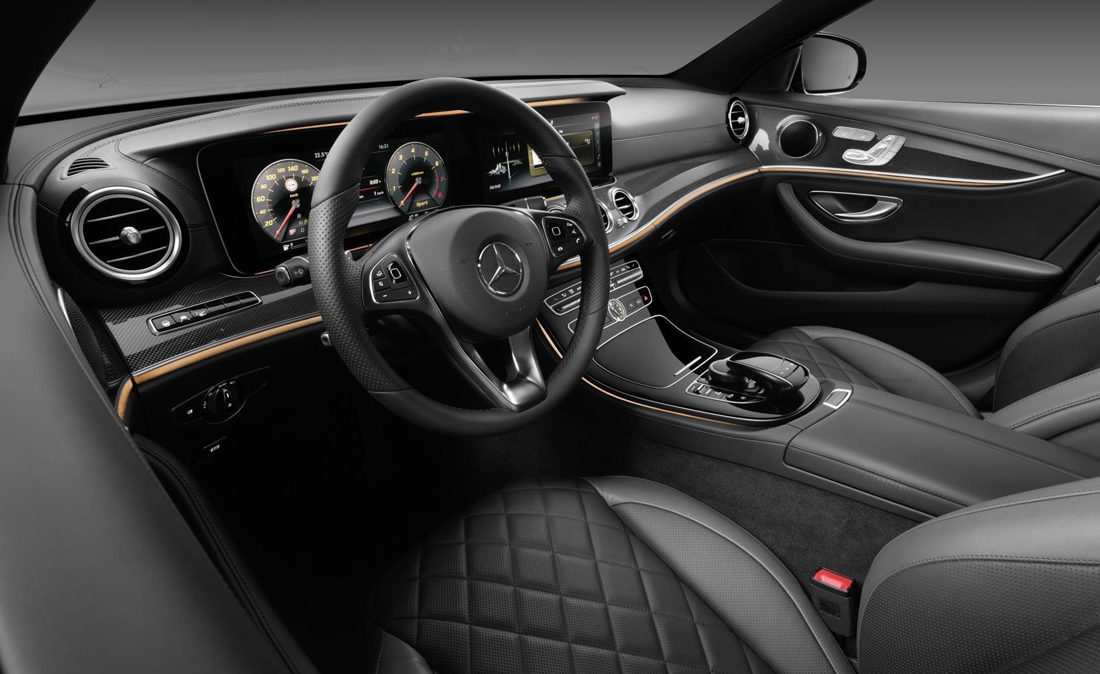 Interieur mercedes  Mercedes-Benz TecDay: Das Interieur der neuen E-Klasse! | autofilou.at