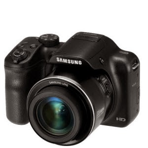 Amazon: Buy Samsung WB1100F Camera and 4GB Card with Pouch at Rs.10945