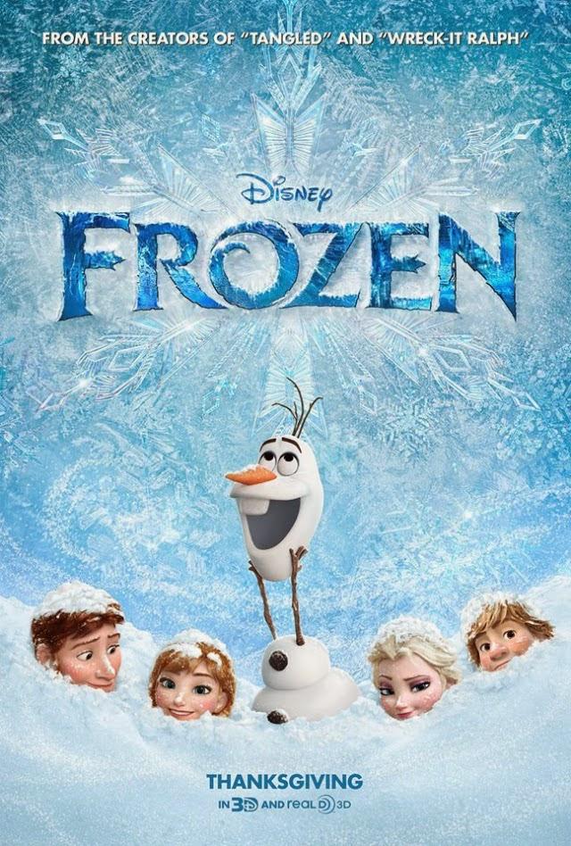 La película Frozen ( El reino del hielo )