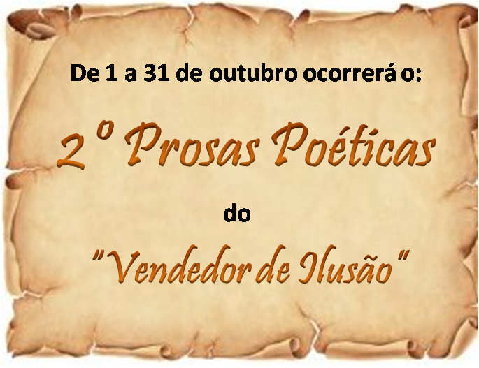 """2° PROSAS POÉTICAS"""