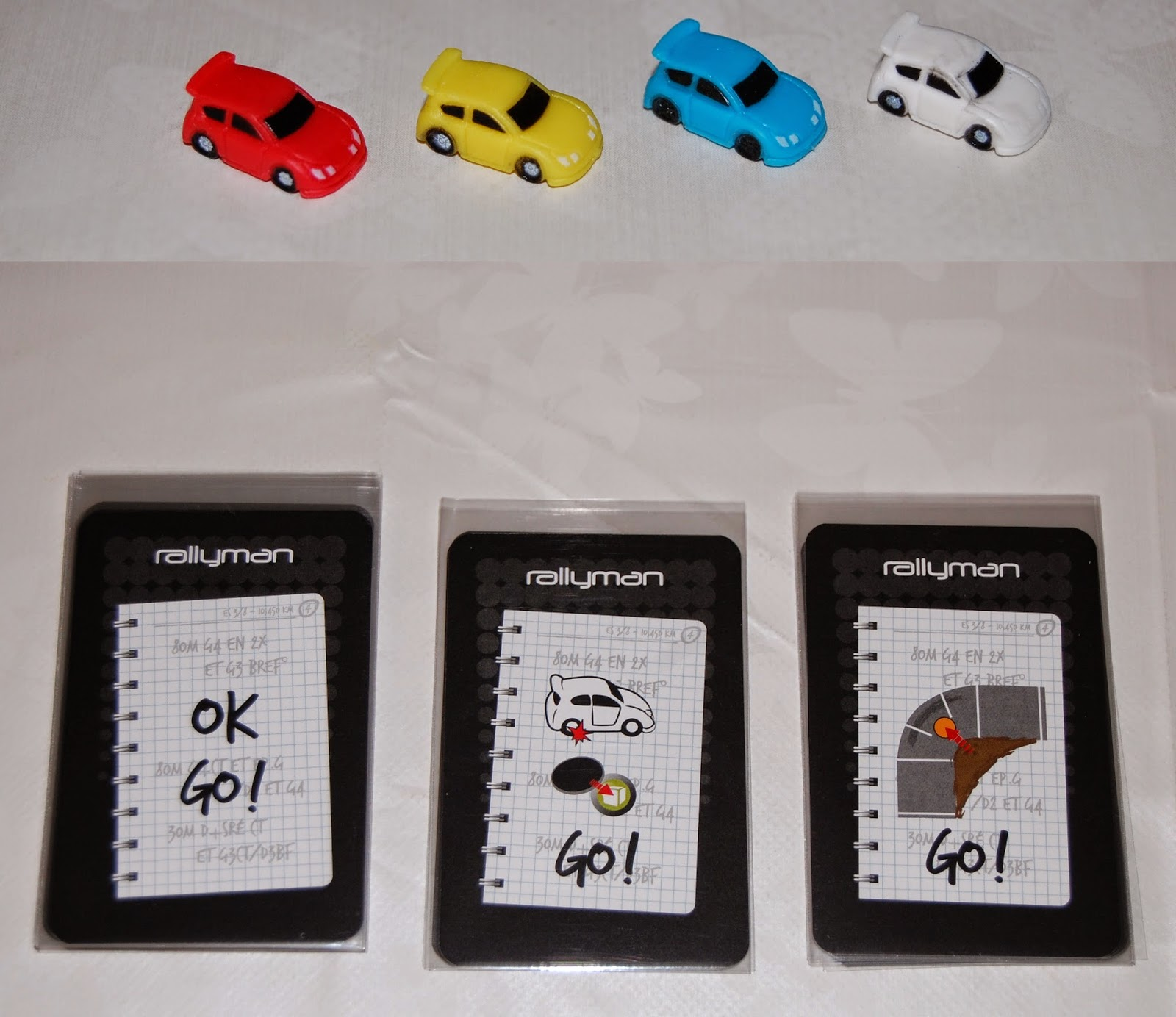 Rallycars y cartas de curva cerrada