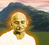 """""""O amor é a força mais subtil do mundo"""" - Mahatma Gandhi"""