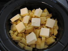 Potatoes in a Crock Pot