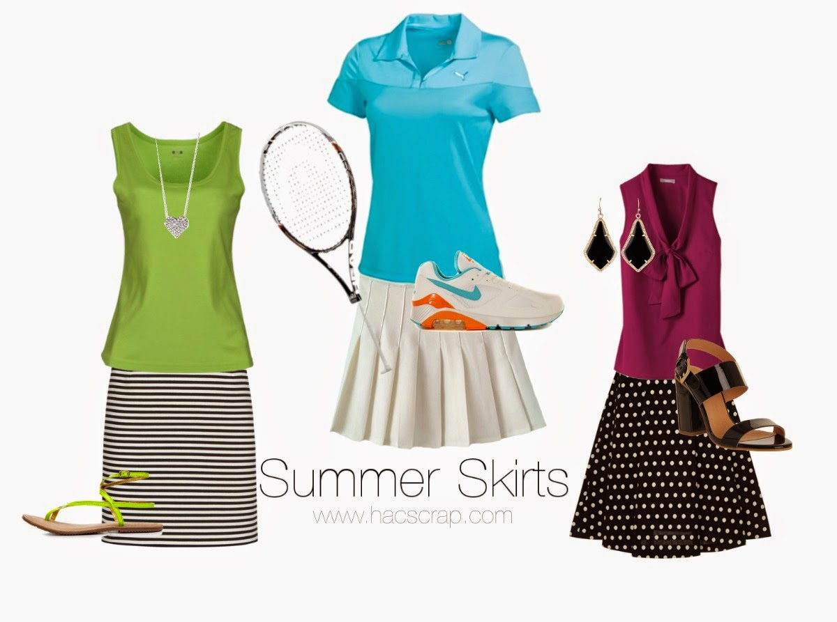 Mid-Life Mom Style - Summer Skirts