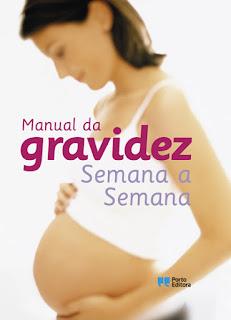 """livro """"Manual de gravidez, semana a semana"""""""