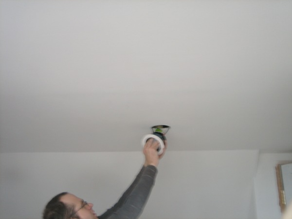 Fitting Recessed Lights   Our Handmade Home