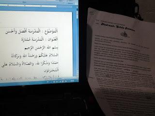[Download] Pidato Dua Bahasa - Indonesia Arab | Madrasah; Selalu Istimewa