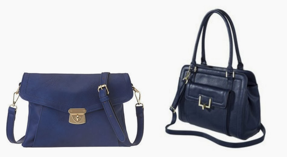 Navy cross body bag, Nine west bag, Target bag