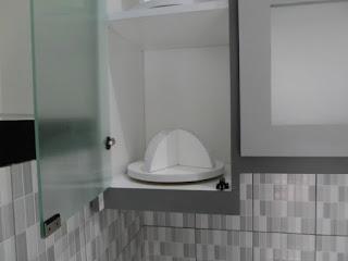 furniture semarang - kitchen set minimalis pintu kaca engsel hidrolis 03a