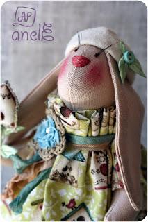 handmade, ручная работа, шитье, заяц, тильда, тильдазаяц