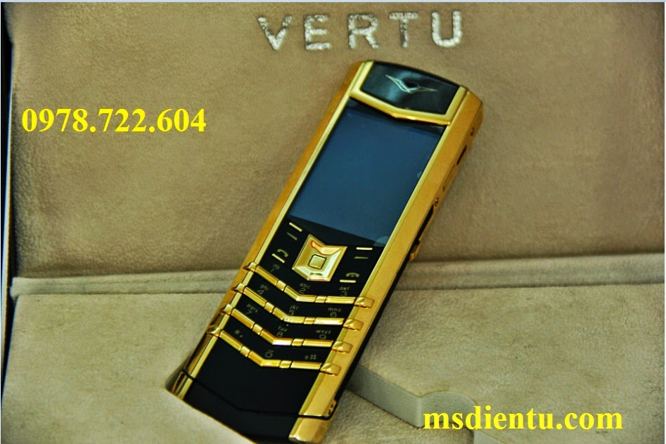 Vertu Signature S Red Gold Ceramic vàng đồng Copy