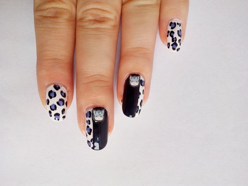 31DC2014 Day 13: ANIMAL PRINT Nails