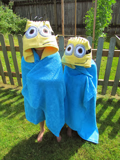 Etsy Children's Minion Hooded Towel Etsy Stalkers