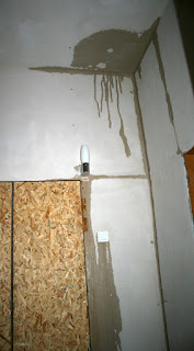 Water in the vestibule