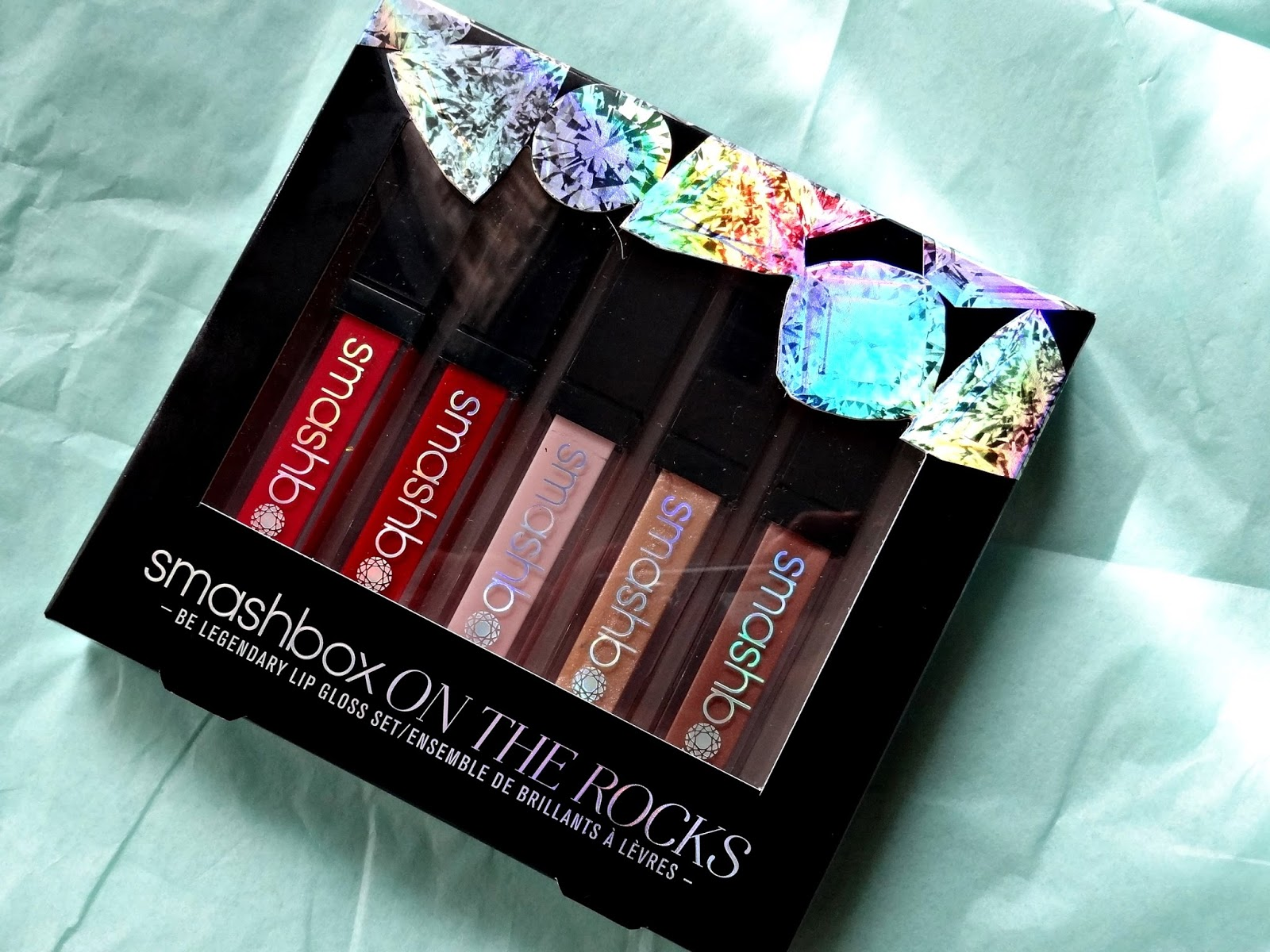 Smashbox On the Rocks Be legendary Lip gloss Set Smashbox Holiday 2014 Limited Edition Review, Photos & Swatches