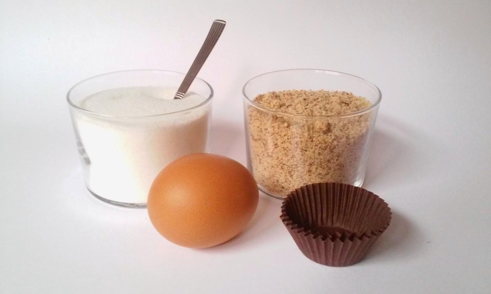 ingredientes bolitas de almendra