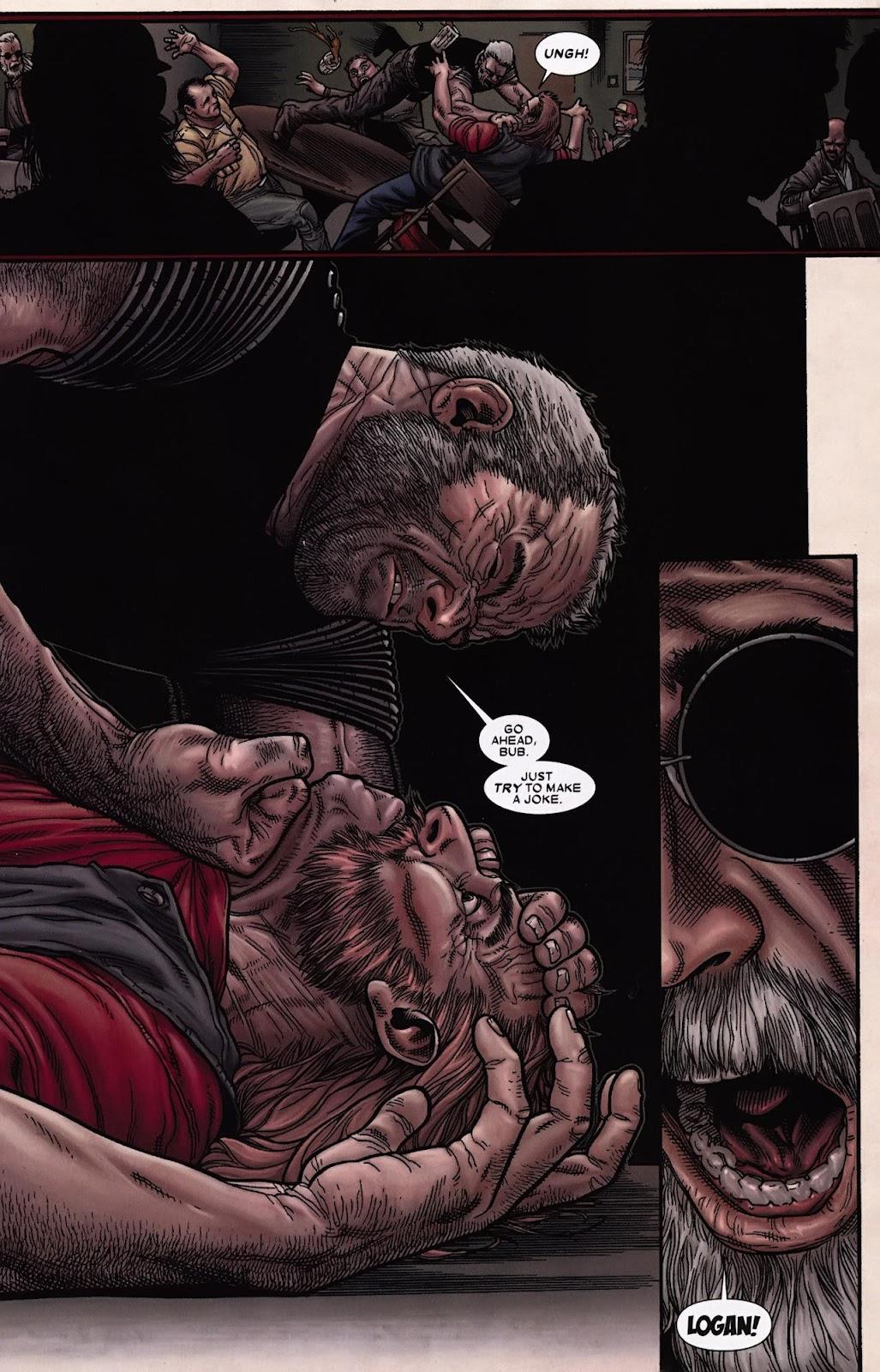 Read online Wolverine (2003) comic -  Issue #69 - 20