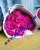 mawar valentine warna pink