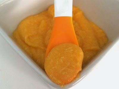 Papilla de patatas, zanahoria y pollo (Bebés 7-12 Meses)