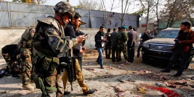Ledakan di Kantor Berita Afghanistan, Tewaskan Puluhan Orang