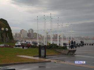Mar del Plata - Cielo nublado