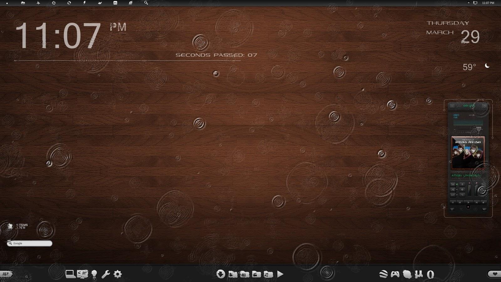 Rain Screen    අමුතු අමුතු screen savers set එකක්...