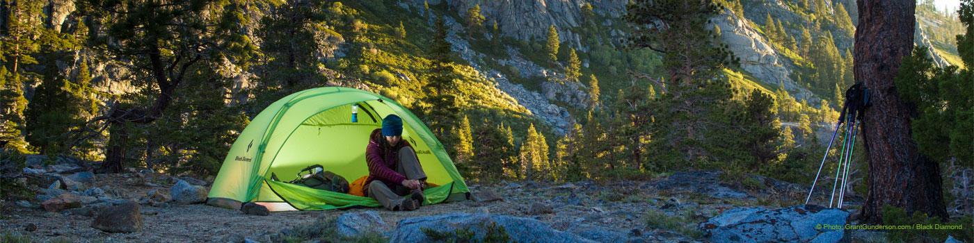 los senderos de osnofla: acampadas, campamentos y pernoctaciones en
