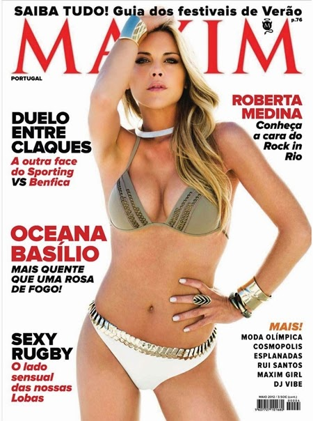 Oceana Basílio – Maxim Portugal