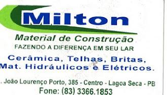 MILTON MATERIAL DE CONSTRUÇÃO