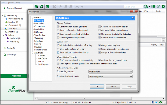 Download Aplikasi uTorrent 3.4.3 Build 40298 (Software Pengunduh Torrent Terbaik)New Version 2015