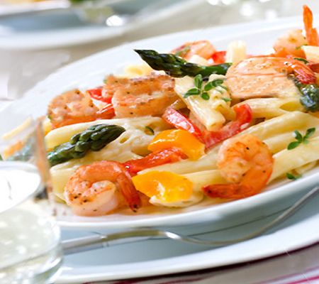 Peppered Shrimp Alfredo Recipes