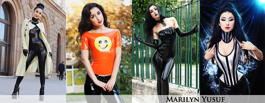 Marilyn Yusuf's Passion for Latex