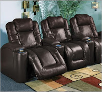 InteriorMark Aspen Brown Leather, Power Recline, Lighted Cupholders, & Motorized Headrest