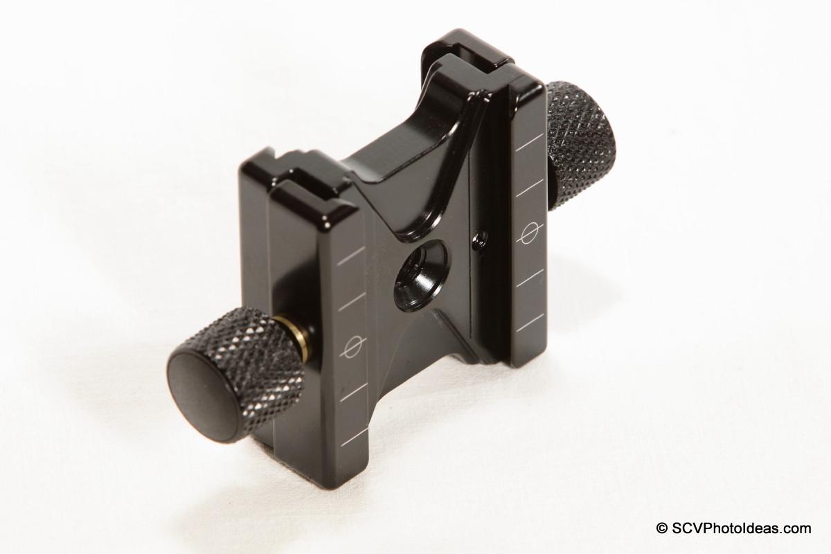 Hejnar PHOTO F51 Dual Subtend QR Clamp side