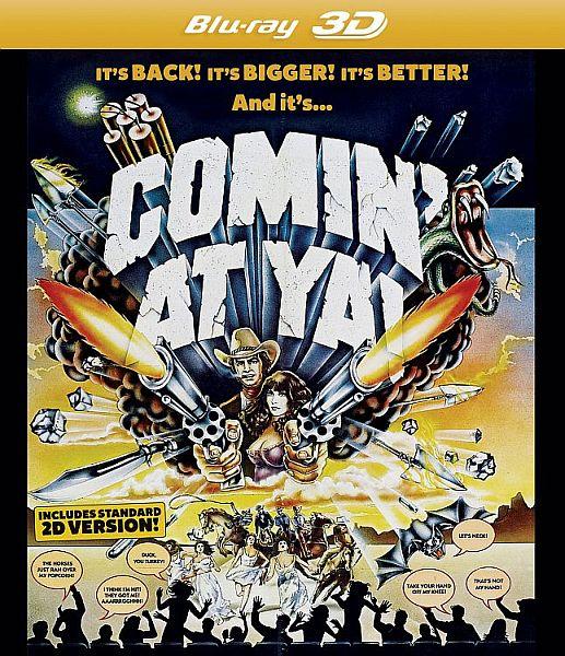 Comin' At Ya! Blu-ray cover