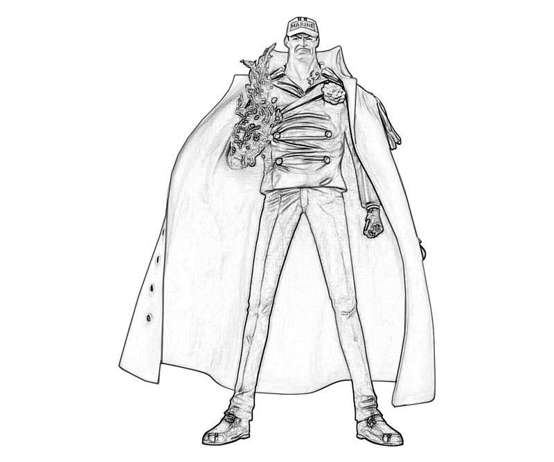 one-piece-akainu-uniform-coloring-pages