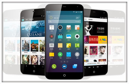 Meizu MX3 : the smartphone to 128 GB of internal memory comes in China