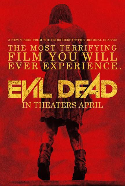 Evil Dead 2013 remake poster