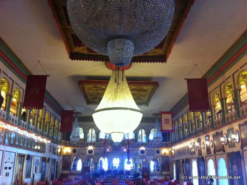 Crystal Museum< Fateh Prakash Palace