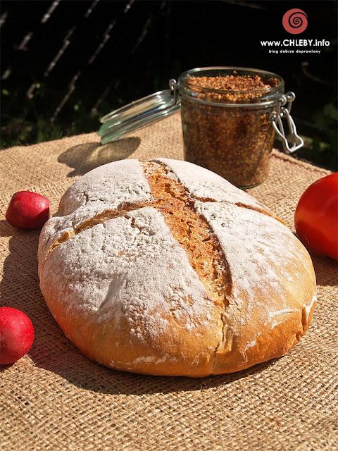 Chleb szwajcarski na zakwasie pszennym