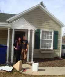 February 2010 {leaving our first home}